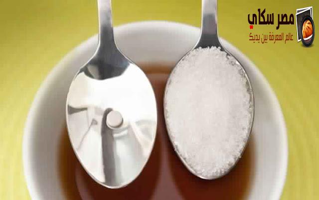 مشاكل إستعمال بدائل السكر فى إنقاص الوزن Sugar substitutes