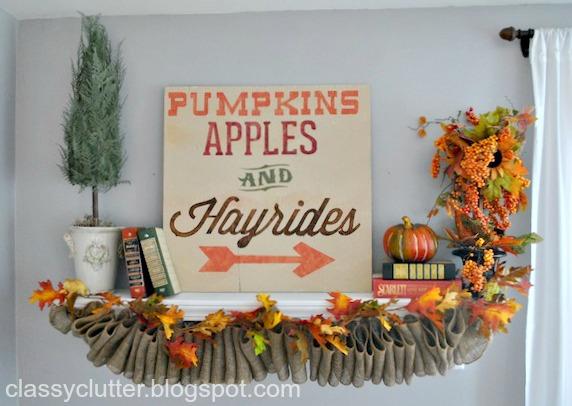 10 super cute fall decor ideas classy clutter