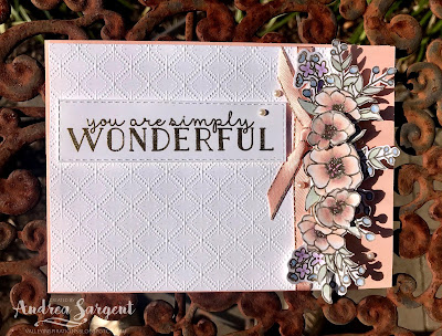 Bloom and Grow Stampin Up card with Blends, Andrea Sargent, Independent, Stampin' Up! Demonstrator, South Australia