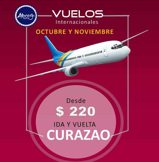imagen Curazao vuelos desde Caracas Octubre y Noviembre