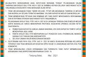 Kapolres Tanjung Balai Dukung Imbauan Pengendalian Covid Saat Salat Ied