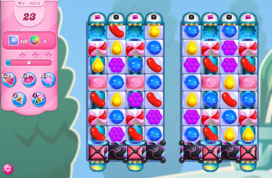 Candy Crush Saga level 9678