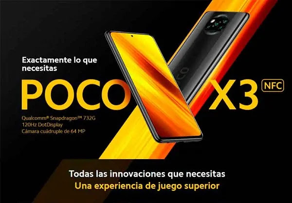XIAOMI POCO X3 NFC EN PERÚ OFICIAL