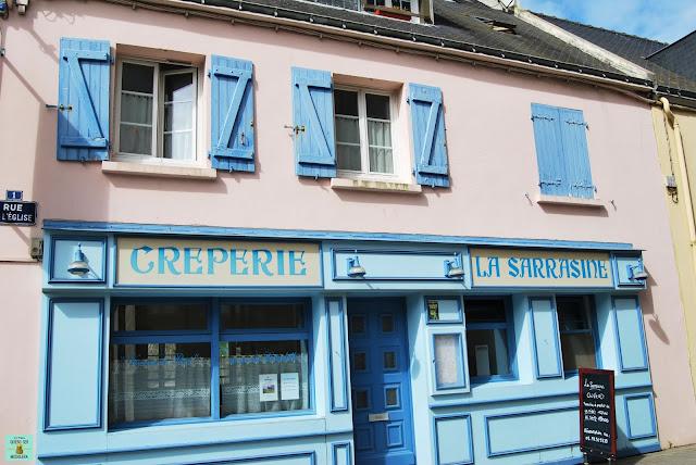 Crepería bretona, Francia