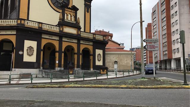 Cruce en Retuerto de la N634 y la avenida de Euskadi