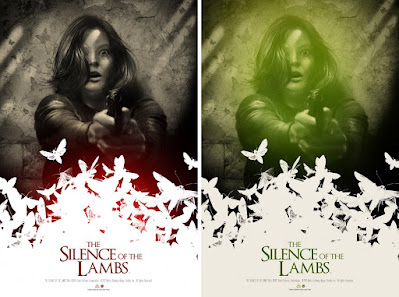 The Silence of the Lambs Screen Print by Greg Ruth x Mad Duck Posters
