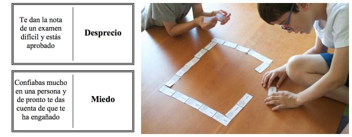 actividades y juegos para trabajar las emociones con los niños dominó emocional