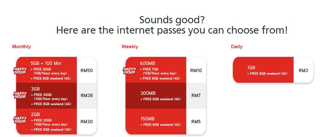 internet passes hotlink