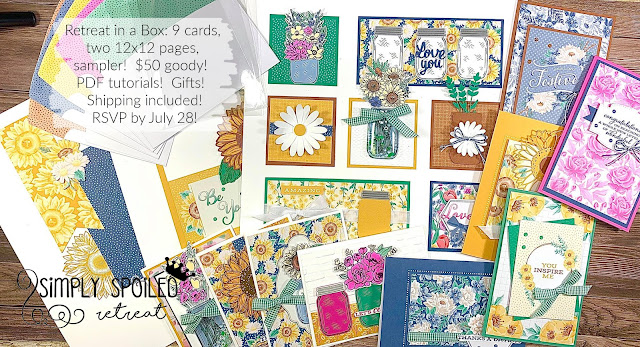 RSVP by July 28, 2020!  Click for details!  TO GO!  Flowers for Every Season by Stampin' Up! #StampTherapist #StampinUp