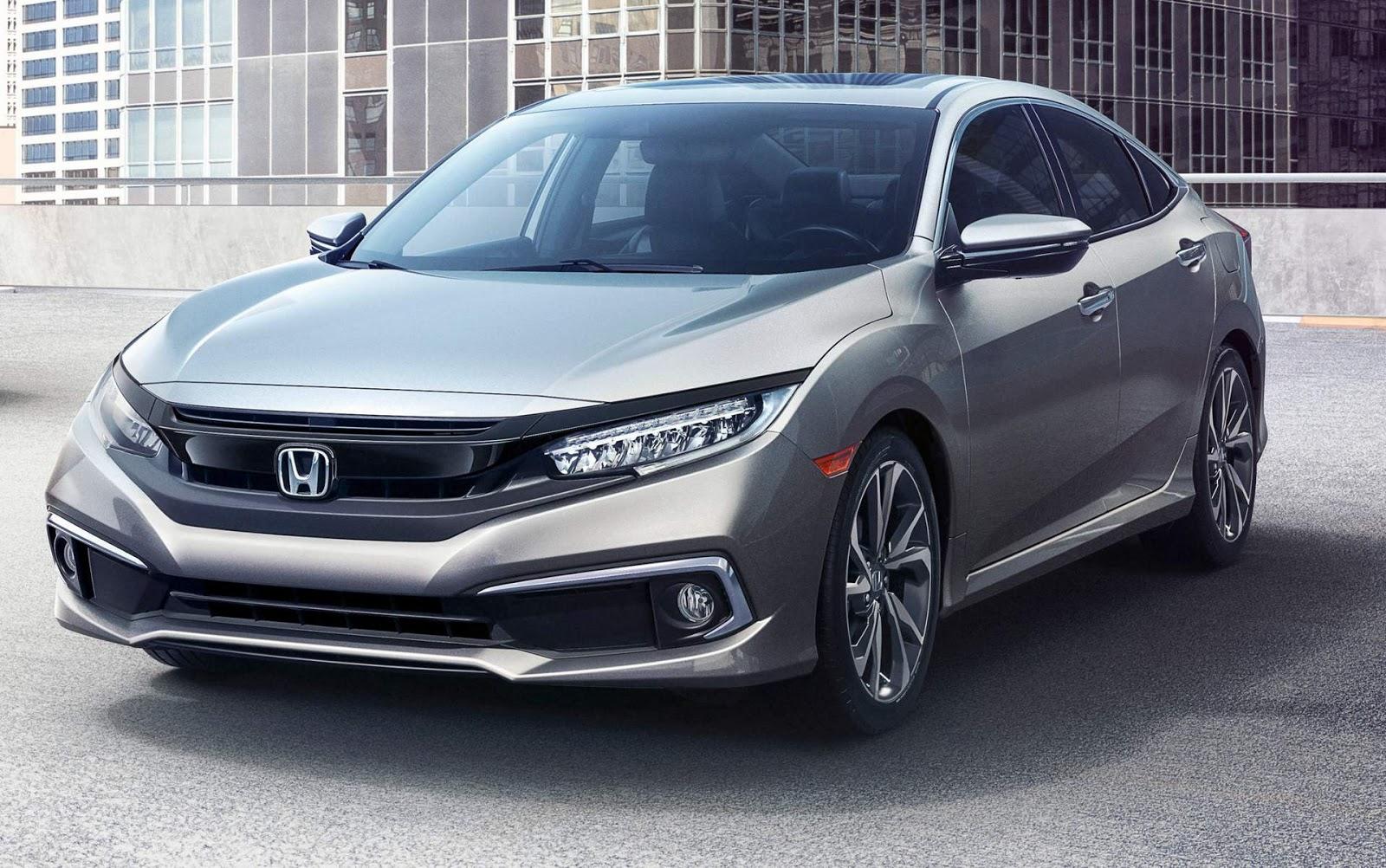 Honda civic 2019 chega com facelift aos eua fotos car for 2019 honda civic