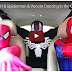 Pink Spidergirl & Spiderman & Venom Dancing in the Car! Superheroes Funny Movie in Real Life!