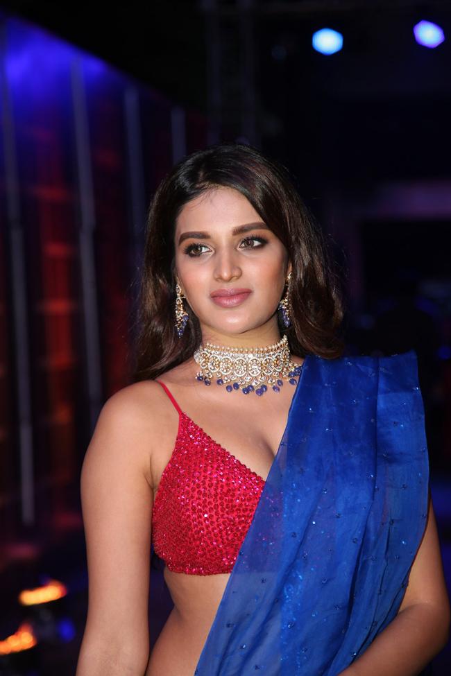 Nidhhi Agerwal Latest Photos At Zee Telugu Kumbam Awards, Nidhhi Agerwal Hot