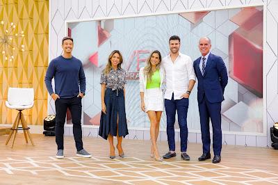 Gabriel, Patricia, Flávia, Marcelo e Dr. José Bento - (Foto: Gabriel Cardoso)