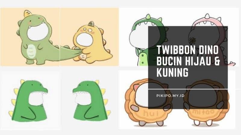 Twibbon Bucin Dino Kuning Hijau Yang Viral di TikTok, Begini Cara Mendapatkanya