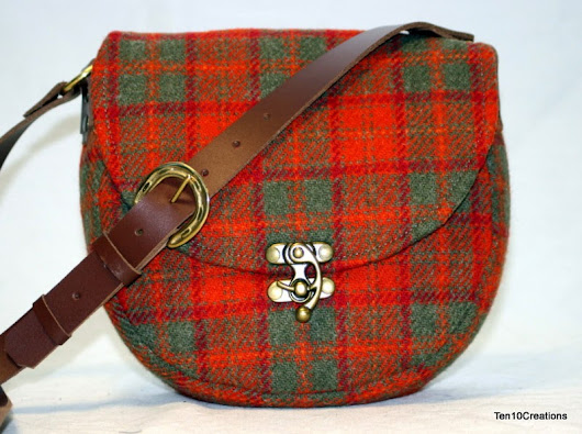 Harris Tweed Saddle Bags - Spring 2015 Collection #3