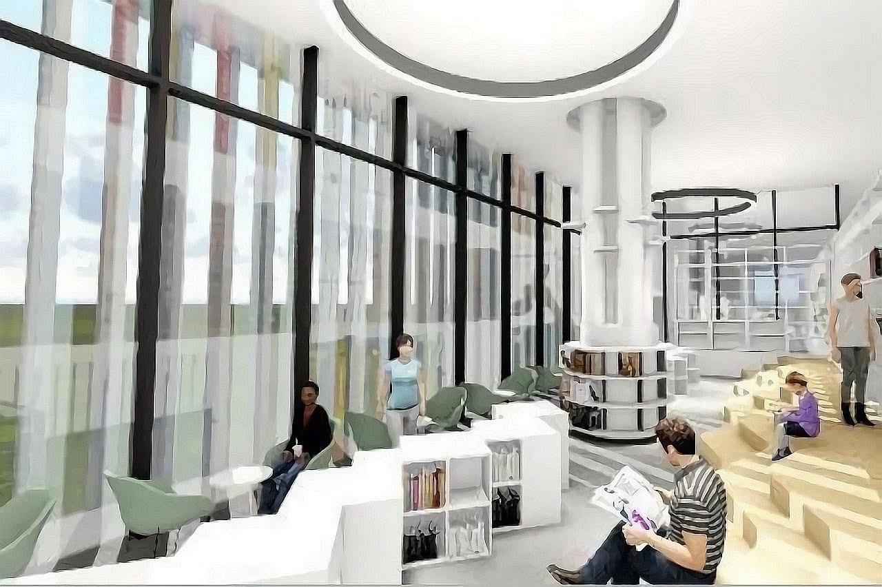 台南市立圖書館總館|2021年1月2日正式開幕|首創全國最大24小時取還書區