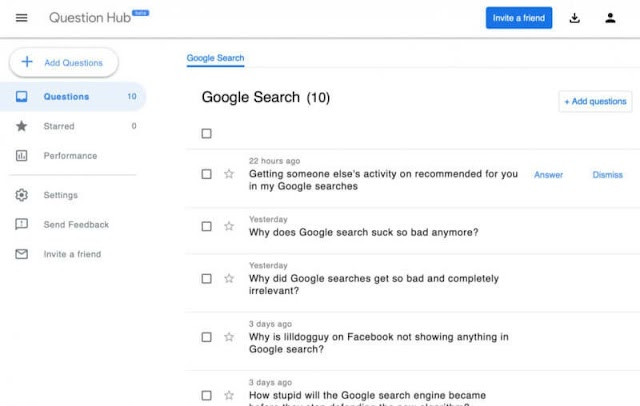 Google launches Question Hub for US publishers