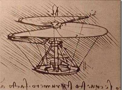 Helikopter Da Vinci