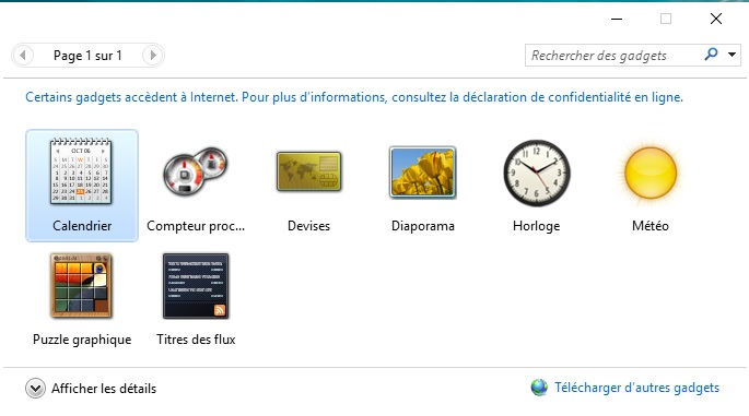 Horloge sur bureau windows 10 - Comment mettre des post it sur le bureau windows 7 ...