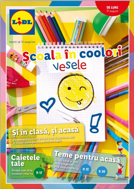 LIDL catalog brosura  Scoala