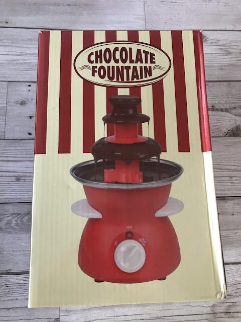 Maplin fizz chocolate fountain boxed
