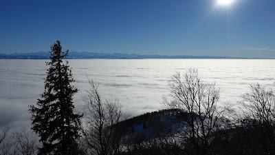 Nebelmeer vom Hellchöpfli