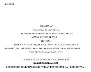 Juknis Cara Pengisian Blangko Ijazah SD SMP SMA SMK 2021.pdf