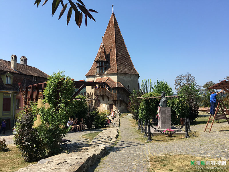 [羅馬尼亞.塞格蕭拉] 世界遺產的山間小城 塞格蕭拉Sighişoara老城區