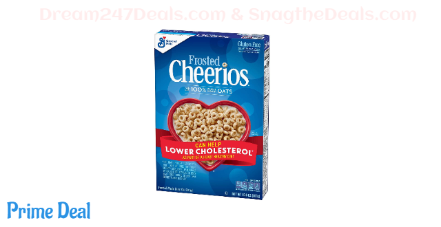 Frosted Cheerios Gluten Free, Breakfast Cereal, 10.6 Ounce
