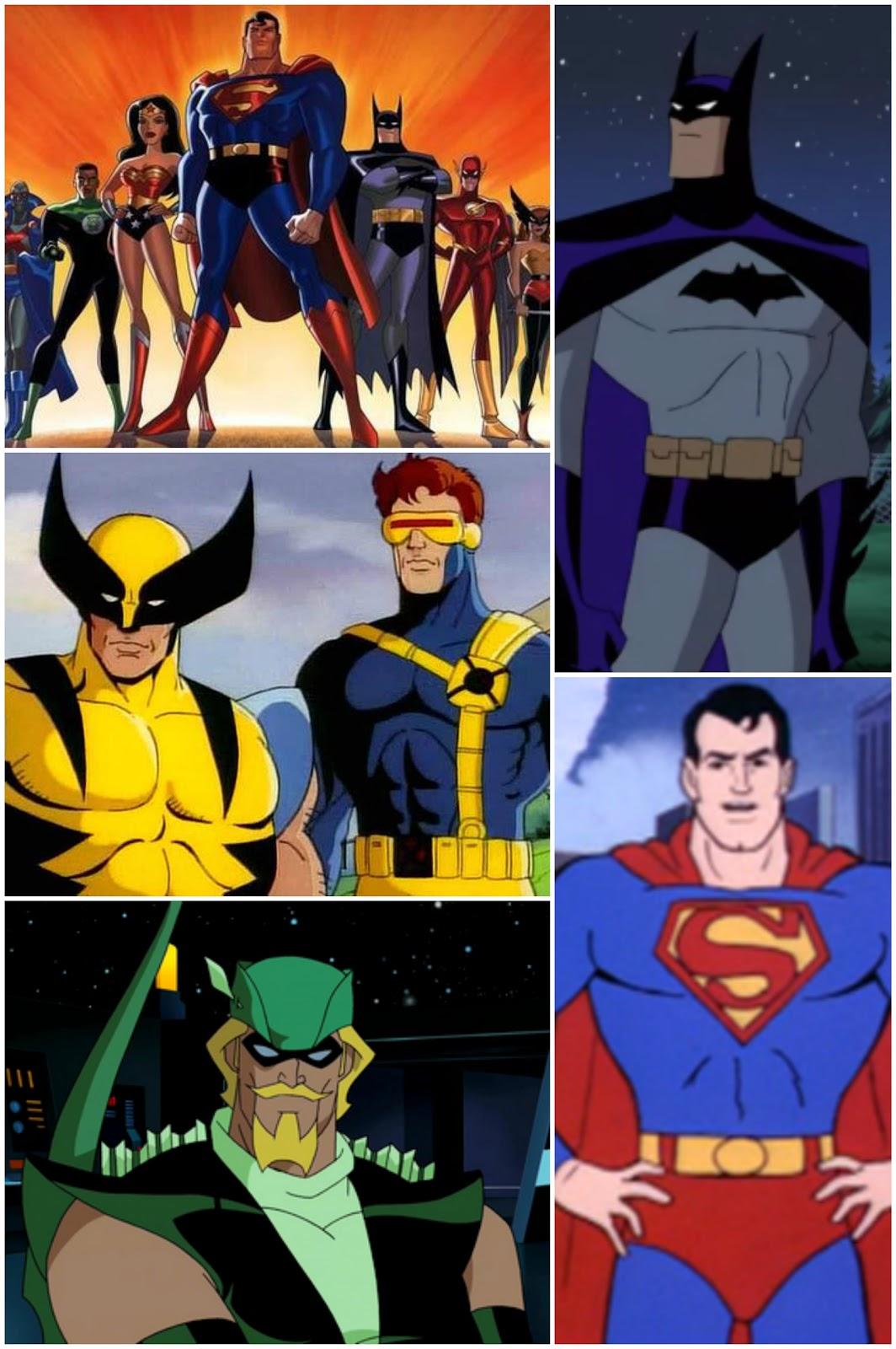Sección de Super Heroes