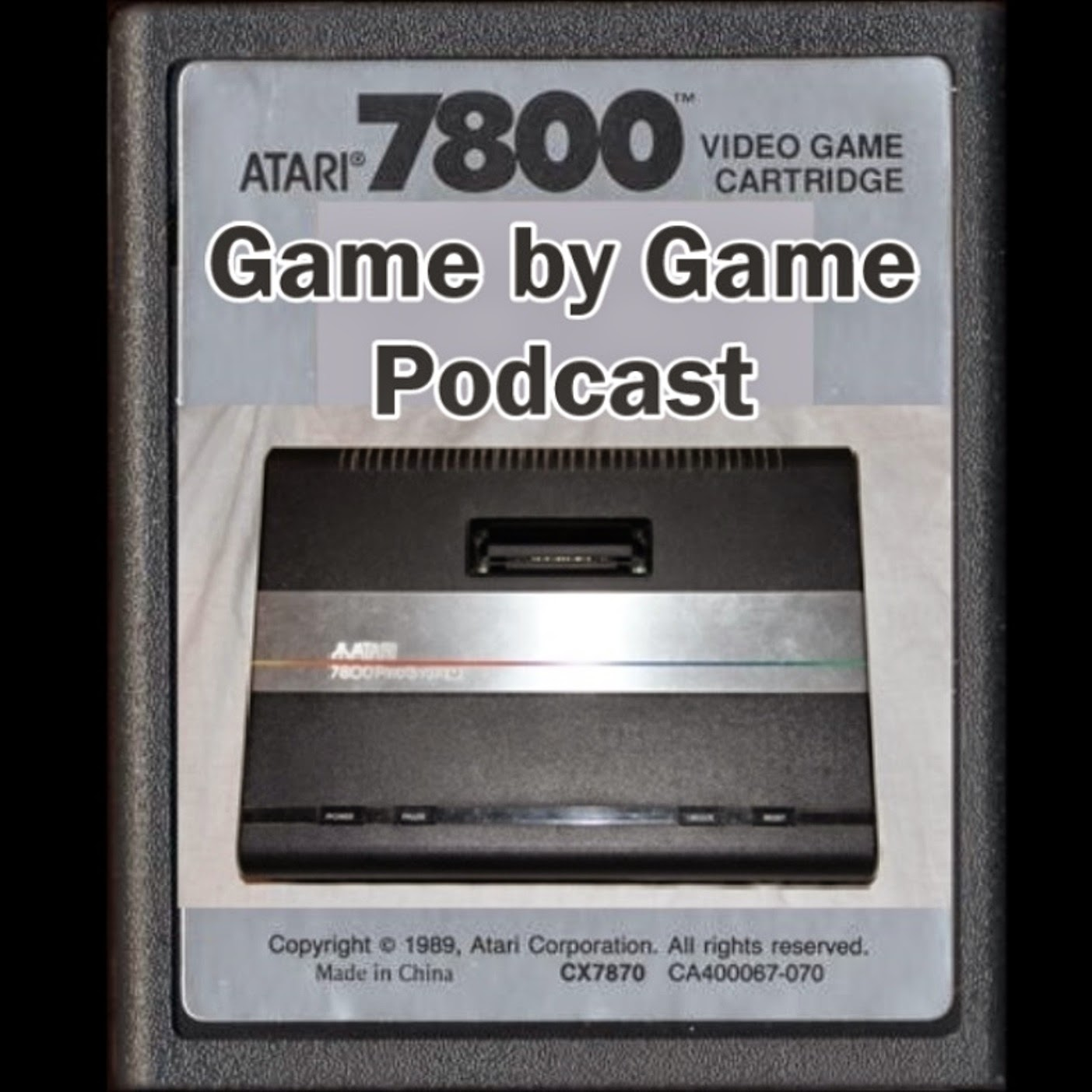 The Atari 7800 Game By Game Podcast