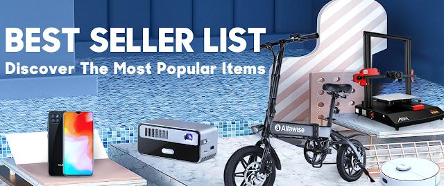 Descobre os Itens mais Populares na Gearbest