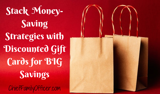 Stack Money-Saving Strategies with Discounted Gift Cards for BIG Savings!