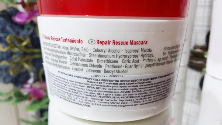 Máscara Schwarzkopf Repair Rescue