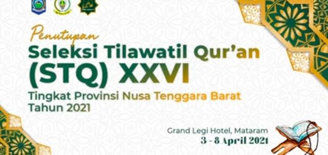 Lombok Tengah Sebagai Juara Umum Pada STQ Ke XXVI Tingkat Provinsi NTB 2021