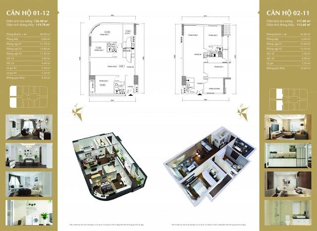 Thiết kế căn hộ 360 Giải Phóng