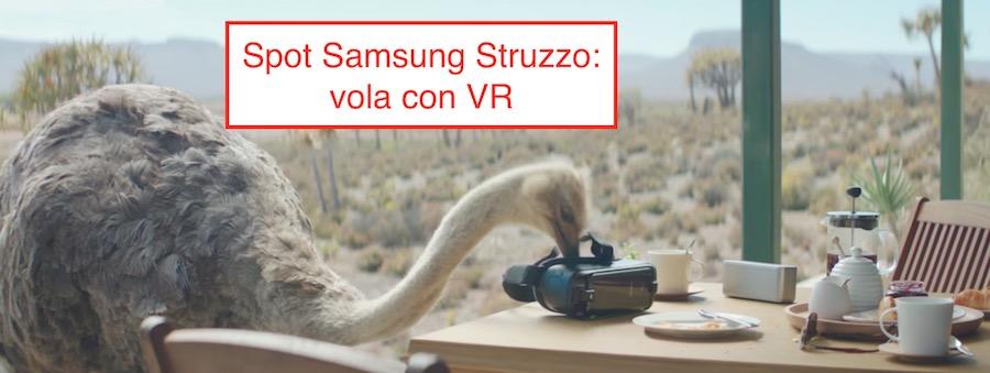 Pubblicità Samsung con Struzzo: Canzone spot