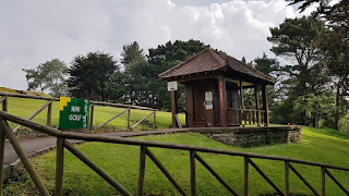 Pitch & Putt Mini Golf course at Peasholm Park in Scarborough