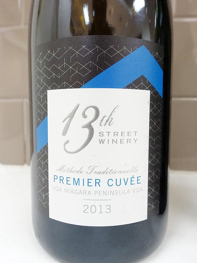 13th Street Premier Cuvée Sparkling 2013 (91+ pts)