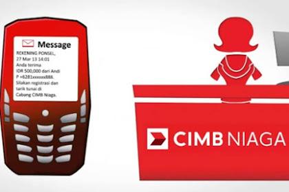 Cara Membuat Rekening Ponsel CIMB Niaga Tanpa ke Kantor