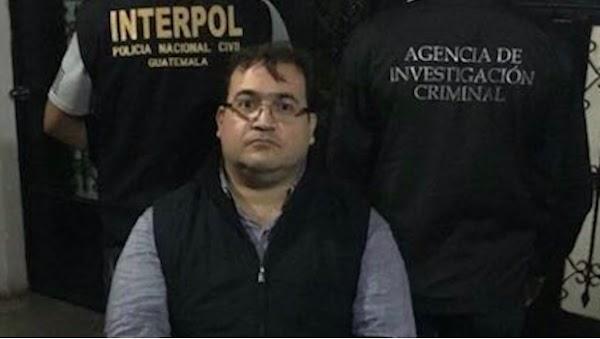 Congelan los proceso penales contra Javier Duarte en Veracruz