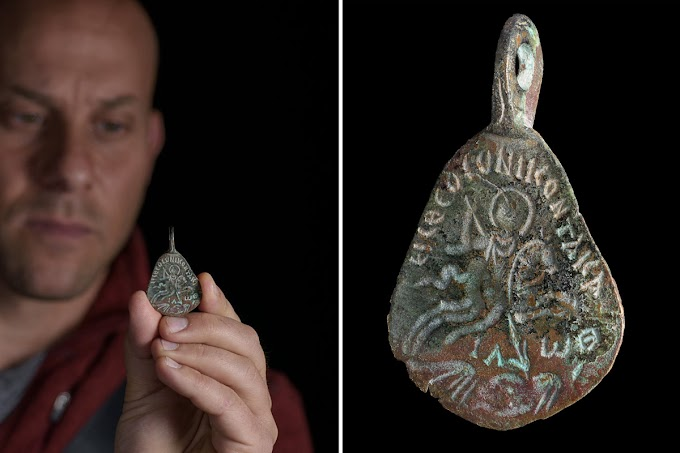 1500-year-old Amulet Made to Ward off the Evil Eye in Galilee