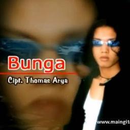 Lirik Lagu Bunga - Thomas Arya