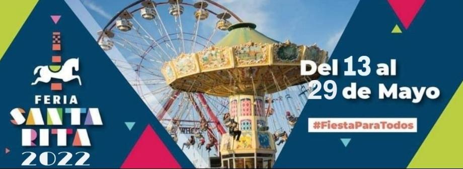 Feria Santa Rita 2022 fechas