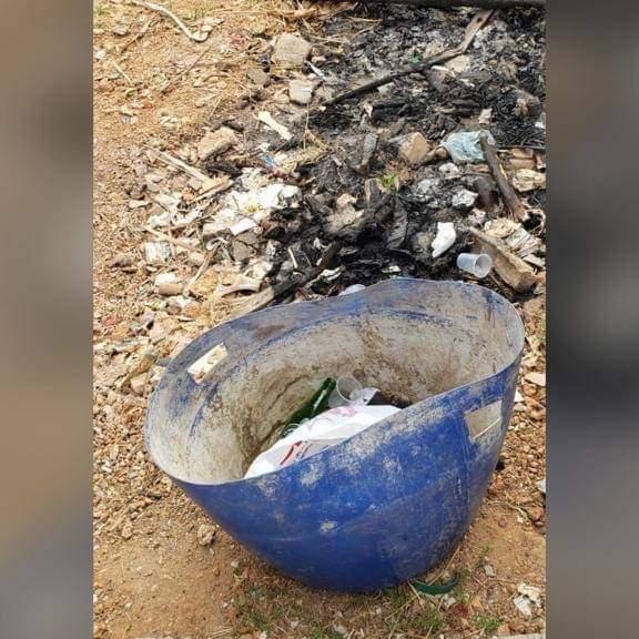 Recém-nascido é encontrado abandonado em lixo na Folha 11, em Marabá.