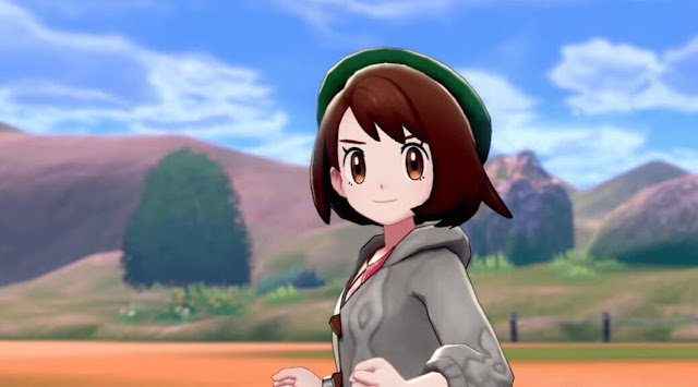 Pokémon Sword e Shield Female Character
