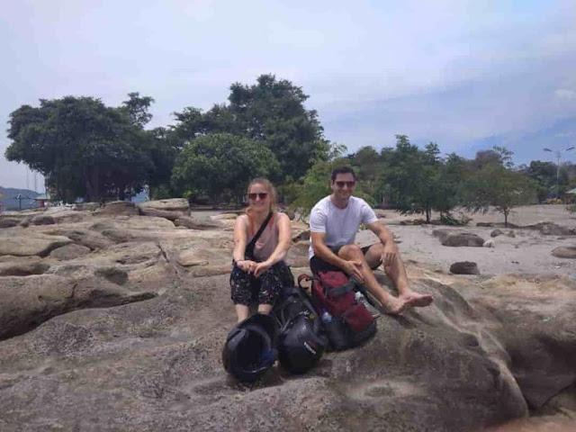 Wisata Pantai Pasir Putih Samosir Batu Hoda yang Cantik Memesona