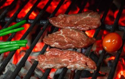 Салат «Атланта»мяса на гриле