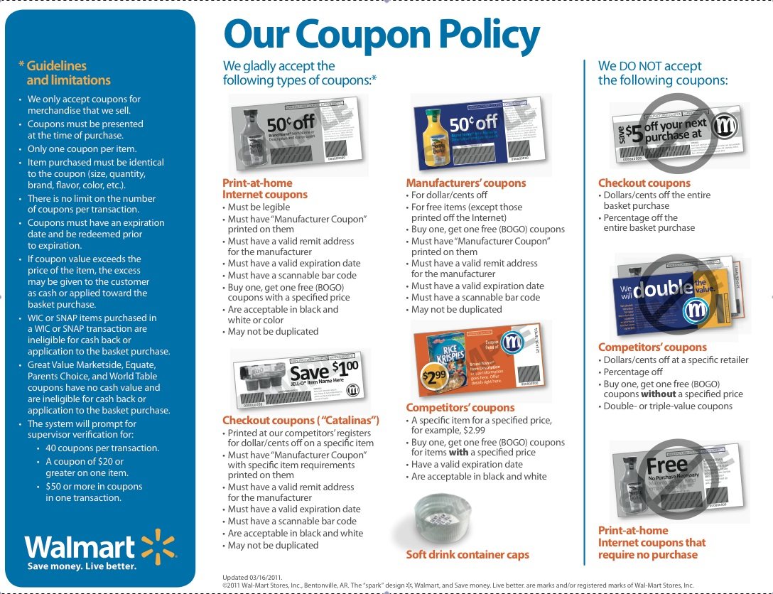 walmart coupons printable coupons