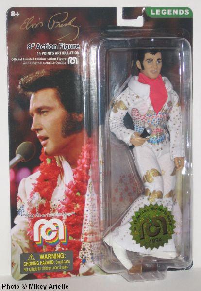 """Mego Legends Elvis Presley The King of Rock  8/"""" Action Figure Marty Abrams"""